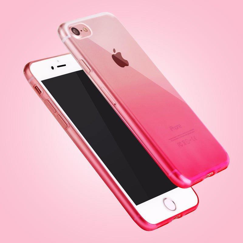 iphone6/7/8plus通用版渐变肖狂刀�s是朝另一�看了�^去色TPU